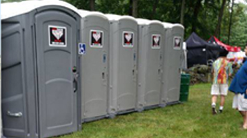 Portable Restroom and Porta Potty Rentals in Delaware