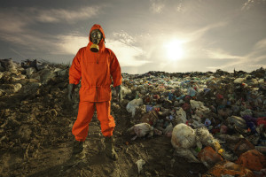 Landfills are notorious for leaching i